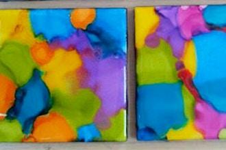 DIY Studio: Acid Ink & Photo Coasters