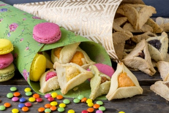 Out at the J: Rainbow Hamantaschen