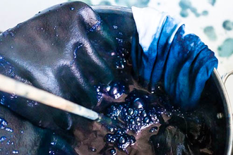 From Green to Blue: Dyeing with Indigo