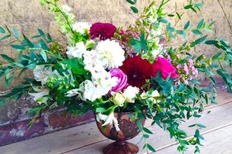 Bring in the Flowers: Flower Centerpiece Workshop