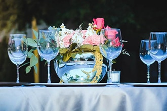 Wedding Centerpieces Design with Market Tour
