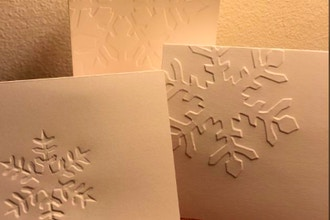 Make Your Own Embossed Greeting Cards