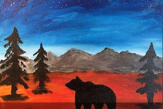 Acrylic Painting: Bear Mountain