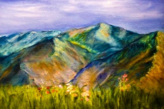 Acrylic Painting: Foothills