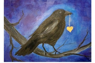 Online Acrylic Painting: My Heart Crows Out To You