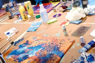 Create Your Own Abstract Painting