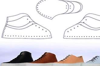 156c31f6331c Design and Make Your Own Sneakers - Pattern Making Classes New York ...