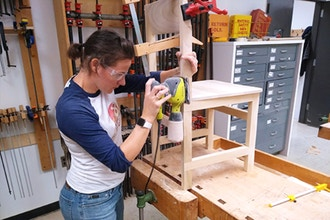 Intermediate Woodworking Modern Chair Woodworking Classes New York Coursehorse Fashion Institute Of Technology