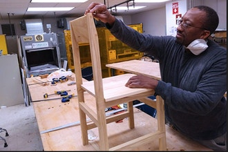 Introduction to Woodworking: Modern Chair