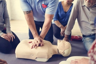 CPR AND FIRST AID TRAINING Photo
