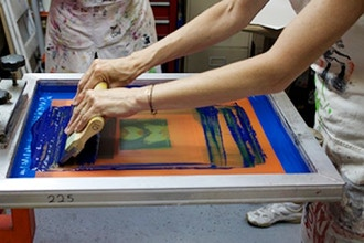 Screen Printing: Limited Edition Cards