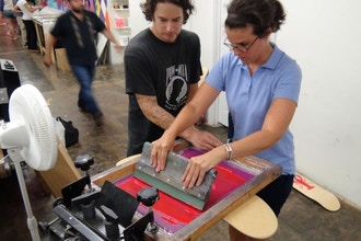 Screen Printing 101 for Kids and Teens